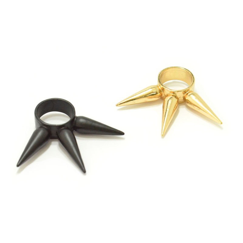 TRIPLE LONG SPIKE RING - product image