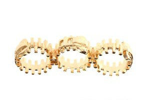 TRIPLE FINGER ZIP RING - product image