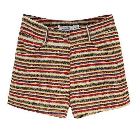 TRIBAL,STRIPE,SHORTS