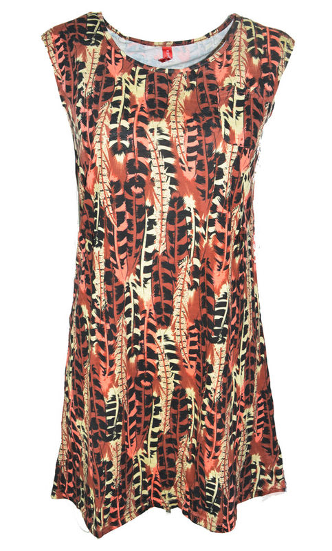 TRIBAL PRINT DRESS - product images