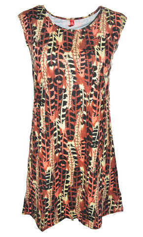 TRIBAL,PRINT,DRESS