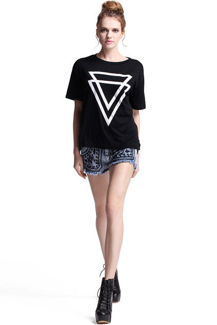 TRIANGLE PRINT TEE 111 - product image