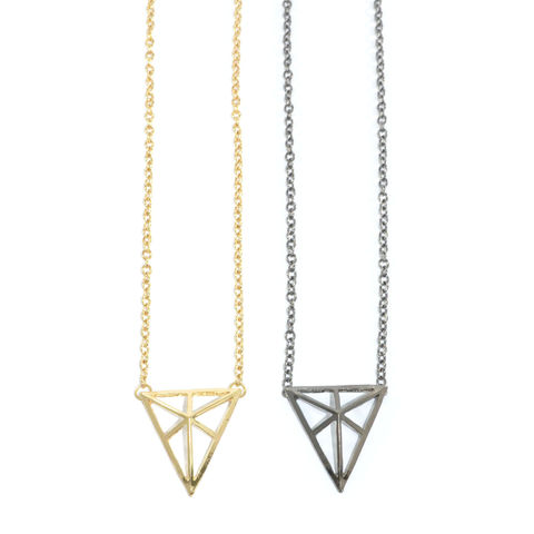 TRIANGLE,NECKLACE,2