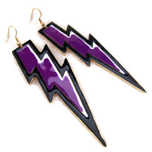 THUNDER,BOLT,EARRINGS