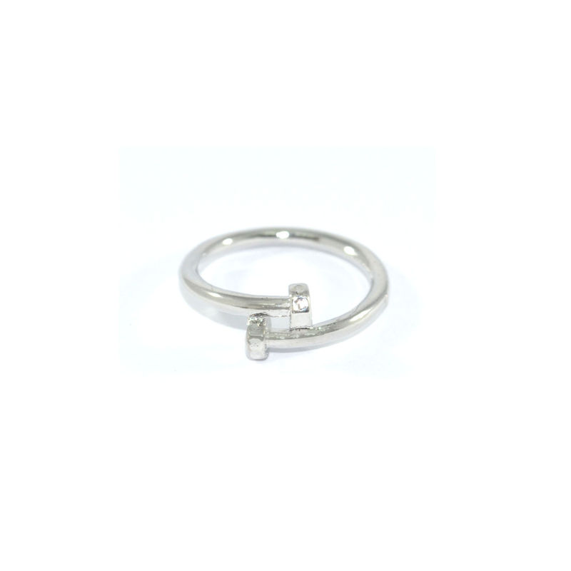 THIN TWISTED SCREW RING - product image