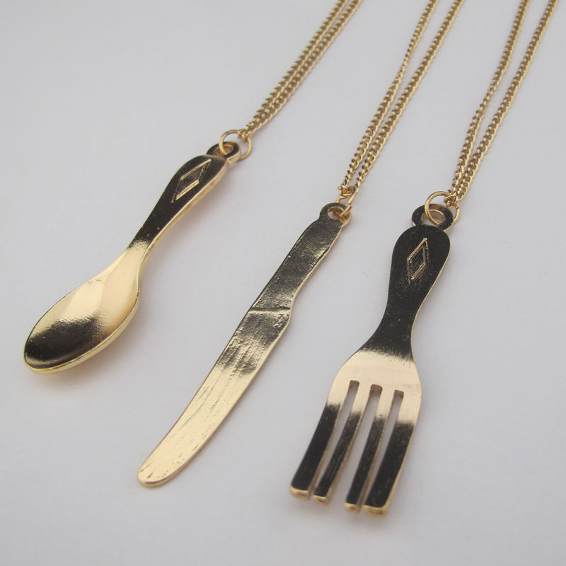 TABLEWARE SET NECKLACE - product image