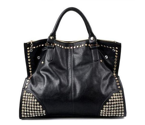 STUDDED, dois, WAY, BAG