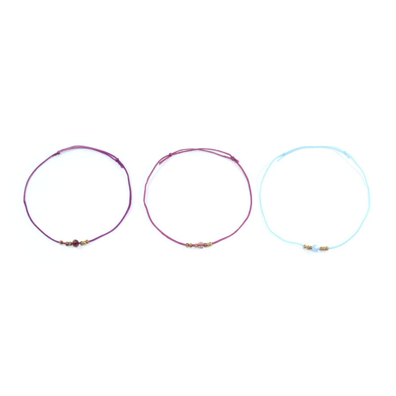 STRAP WITH BEADS BRACELET - product image