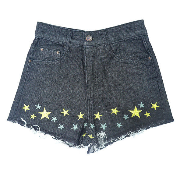 STARRY DENIM SHORTS - product image