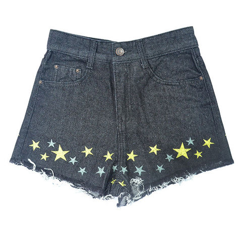 STARRY,DENIM,SHORTS