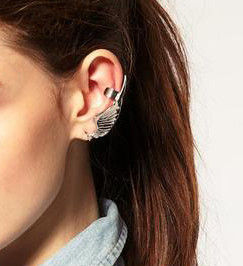 STAR AND WING CUFF EARRING - product image