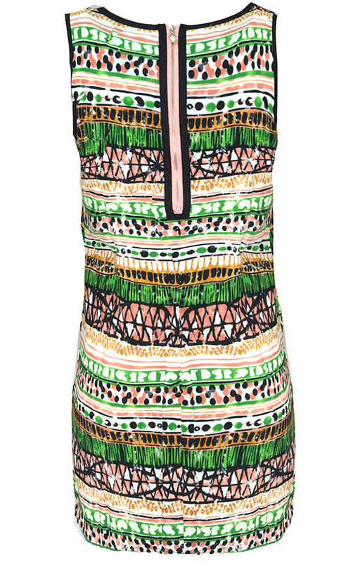 SHUFFLE TRIBAL DRESS - product image