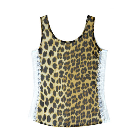 LEOPARD,PRINT,SLEEVELESS,VEST,rings