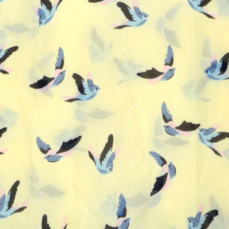 BIRD PRINT SLEEVELESS VEST - product image