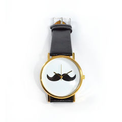BLACK,MUSTACHE,WATCH,1