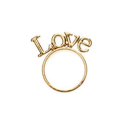 LOVE STAND RING - product images  of