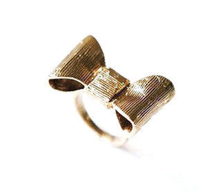 VINTAGE,STYLE,BOW,RING