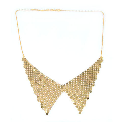 METALLIC,COLLAR,NECKLACE,1