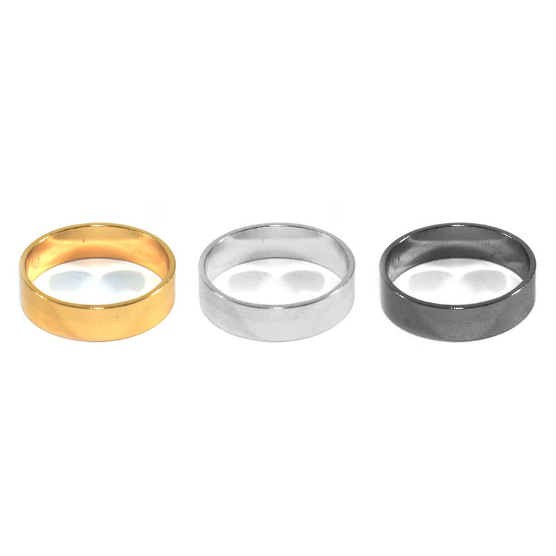MINIMAL METALLIC RING - product image