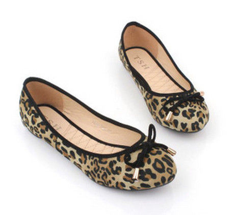 LEOPARD PRINT FLATS - product images  of