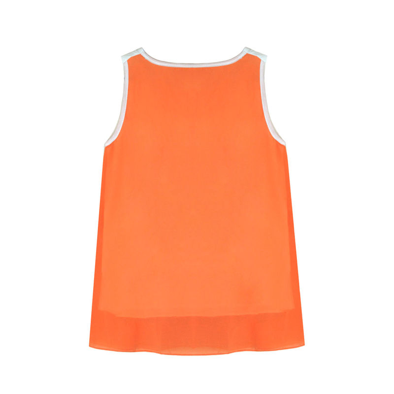 TWO TONE LAYERED VEST - product image