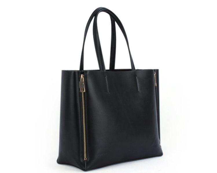 DOUBLE ZIP TOTE BAG - Rings & Tings | Online fashion store | Shop ...