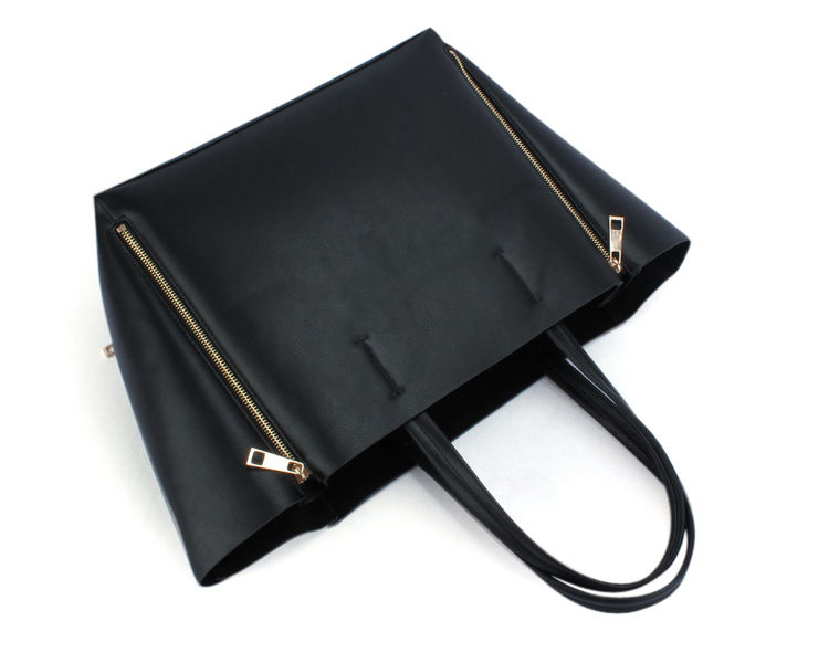 DOUBLE ZIP TOTE BAG - product image