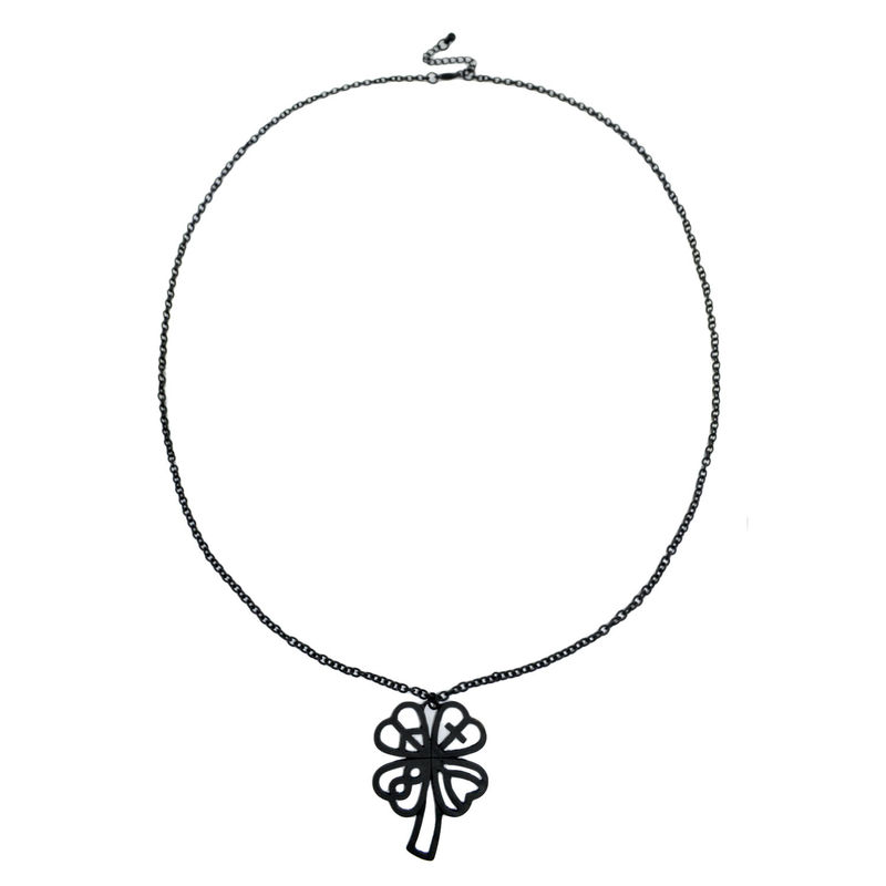 LUCKY LEAVES PENDANT NECKLACE - product image
