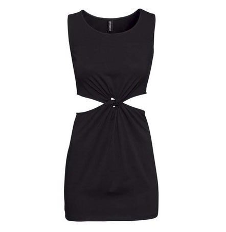 KNOT DETAIL DRESS - product image
