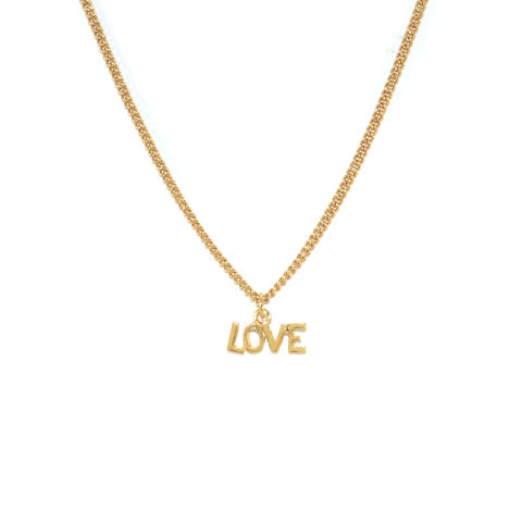 LOVE,PENDANT,NECKLACE,LOVE NECKLACE, MINI LOVE PENDANT NECKLACE, LOVE PENDANT NECKLACE, LOVE CHARACTER NECKLACE