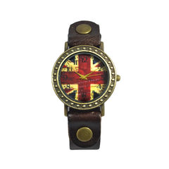 VINTAGE,UNITED,KINGDOM,FLAG,WATCH,UK FLAG WATCH, UNITED KINGDOM FLAG WATCH, VINTAGE UK FLAG WATCH