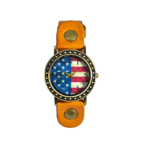 VINTAGE,UNITED,STATES,FLAG,WATCH,US FLAG WATCH, UNITED STATES FLAG WATCH, VINTAGE US FLAG WATCH