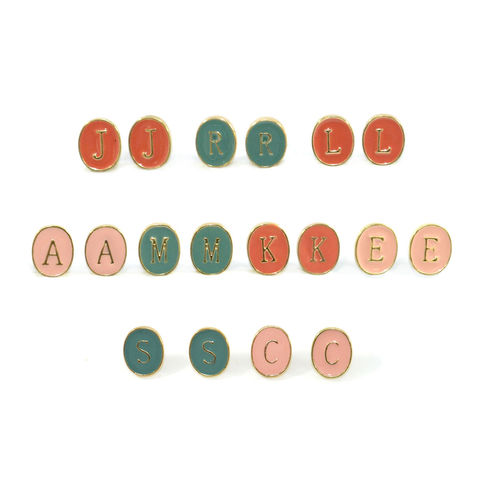ALPHABETIC,CHARACTER,EARRINGS,rings