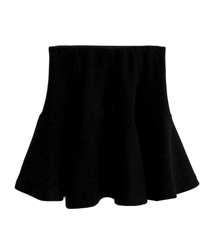 HIGH WAIST PLEATED SKIRT - Rings & Tings | Online fashion store ...