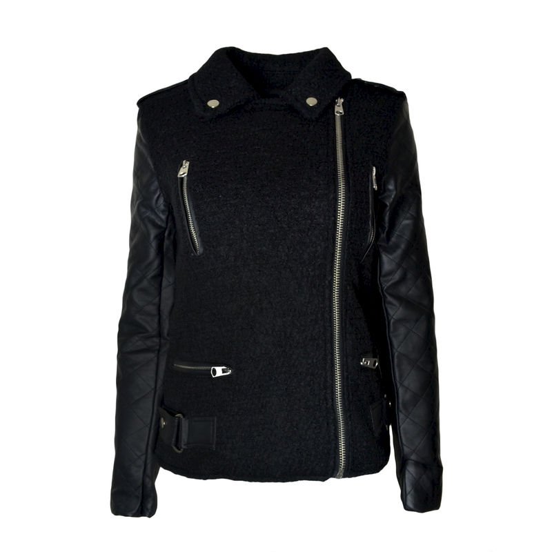 LONG CONTRAST SLEEVE JACKET - product image