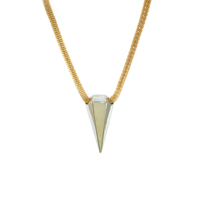 SHINY DIAMOND PENDANT NECKLACE - product image
