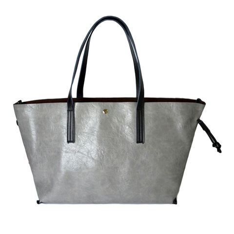 111,DOUBLE,LAYER,TOTE,BAG,large tote bag, grey tote bag, GREY LARGE TOTE BAG, DOUBLE LAYER GREY TOTE BAG