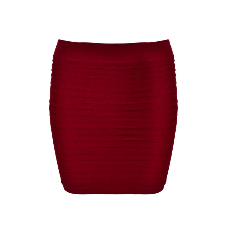 MINIMAL RUFFLED SKIRT - product image