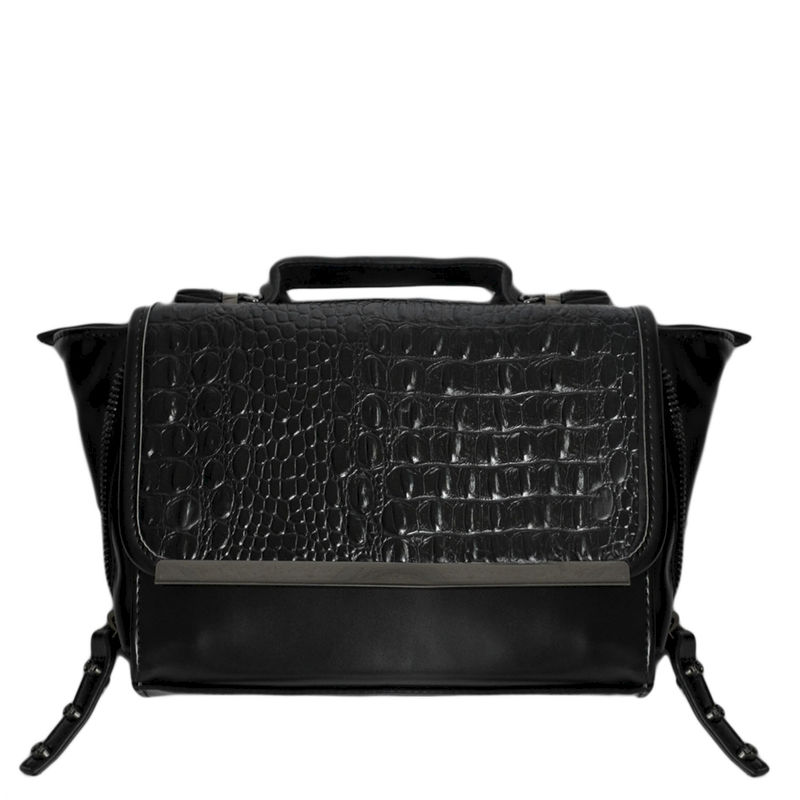 CROCODILE FLAP SHOULDER BAG 111 - product image