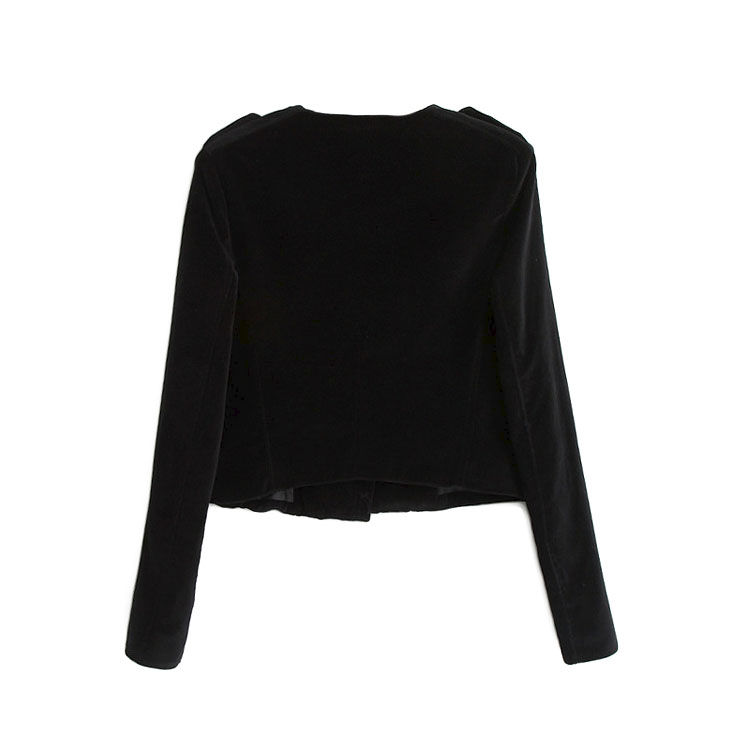 BLACK VELVET JACKET - product image