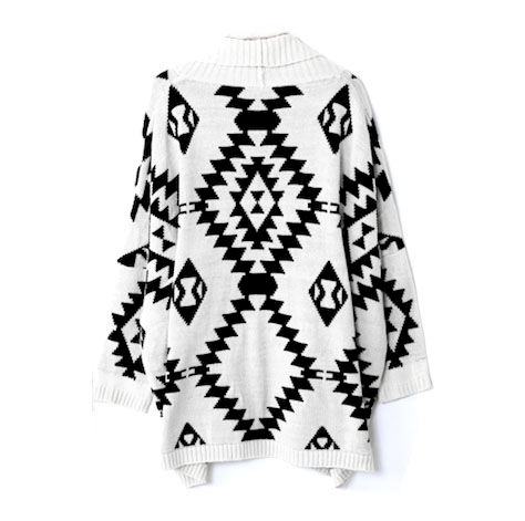 Aztec pattern shawl cardigan rings tings online fashion aztec pattern shawl cardigan product image dt1010fo