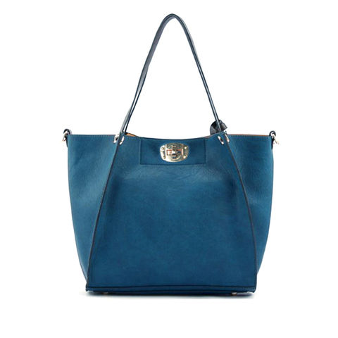 BLUE,GREEN,TOTE,BAG,BLUE GREEN DOUBLE BAG, MINIMAL TOTE BAG, TOTE BAG WITH INNER BAG, TOTE BAG WITH PURSE