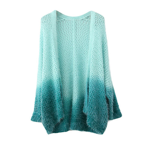 BLUE,GRADIENT,KNIT,SWEATER,GRADIENT SWEATER, BLUE GRADIENT SWEATER, BLUE KNITTED SWEATER