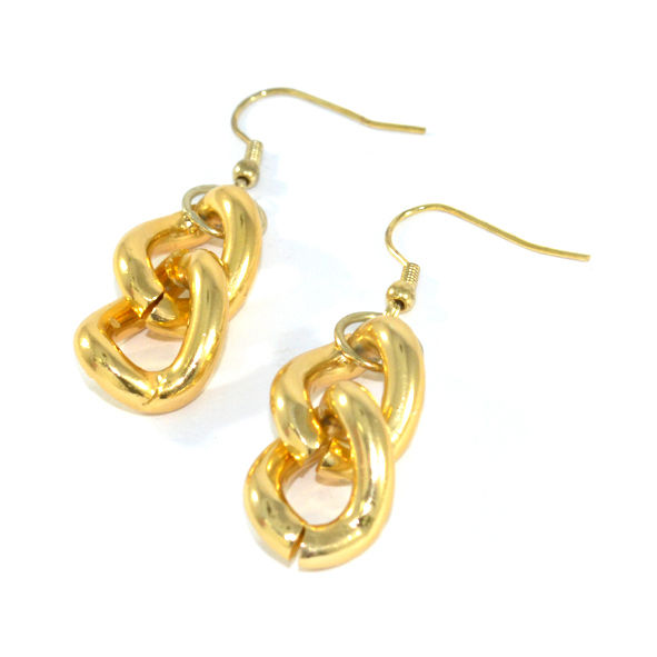 CHUNKY CHAIN EARRINGS - product image
