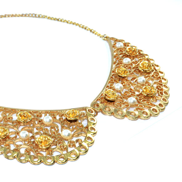 FLORAL COLLAR NECKLACE - product image