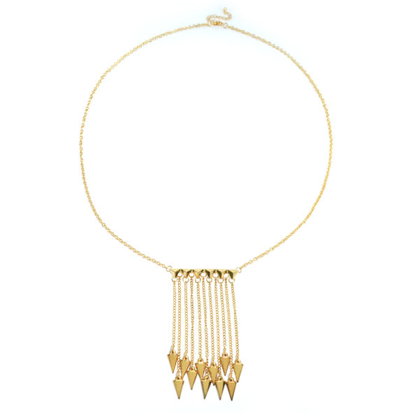 ARROW SPIKE NECKLACE - product image