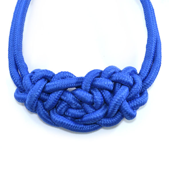WOVEN KNOT NECKLACE - product image