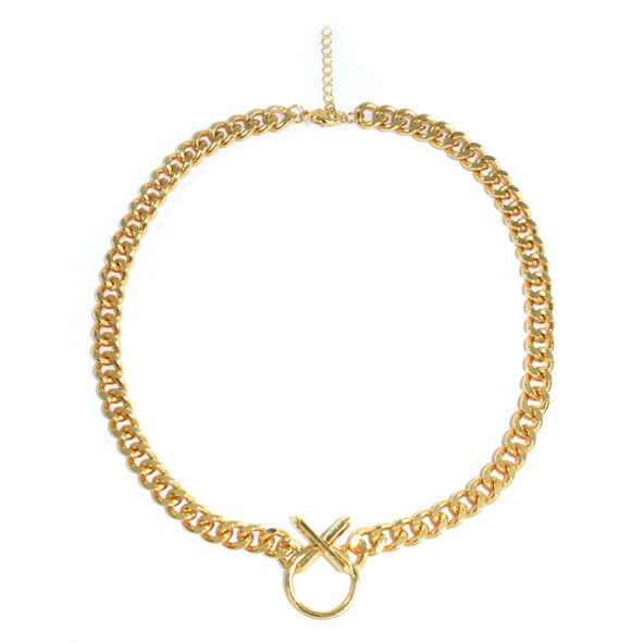 XO CHUNKY NECKLACE - product image