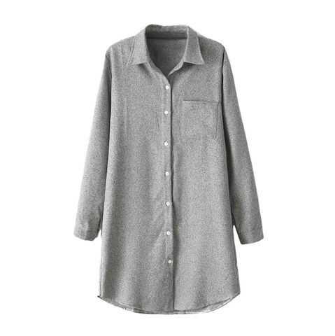 STRUCTURED,SHIRT,111,Longline Shirt, SHIRT DRESS, GREY SHIRT DRESS, GREY STRUCTURED SHIRT DRESS