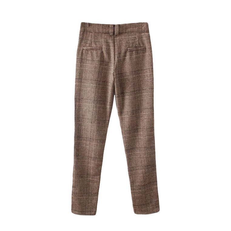CHECK TROUSERS - product image